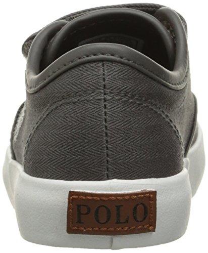 Pictures of Polo Ralph Lauren Kids Waylon Ez Sneaker Grey M 8
