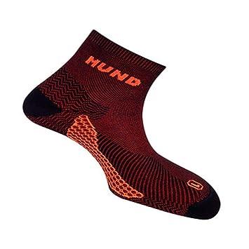 Calcetín Mund Socks TREKKING/RUNNING antiampollas, antibacteriano y terapéutico. Pie izquierdo y derecho diferenciados (negro, EU 38-41): Amazon.es: ...