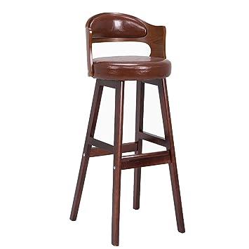 En Bar Moderne De BarChaise Hjhy® Massif Tabourets Simple Bois CrdoWxBe