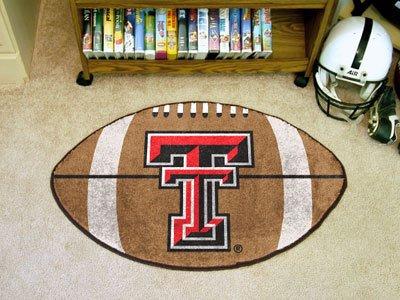 (Football Floor Mat - Texas Tech University)
