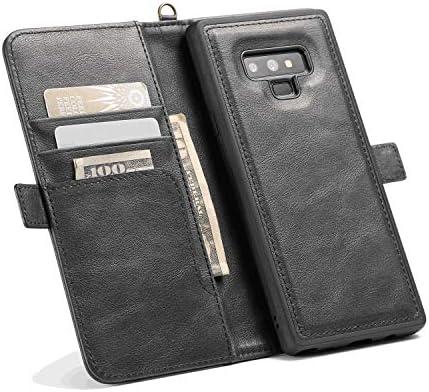 全面保護 手帳型 Samsung Galaxy S8 ケース 本革 レザー カバー 対応 耐摩擦 軽量 保護ケース スマートフォンケース [無料付防水ポーチケース]