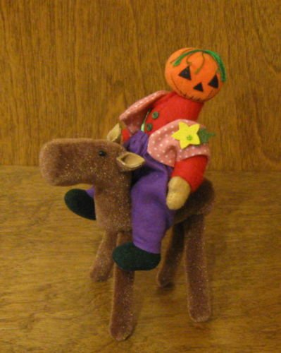 Deb Canham Artist Designs, PUMPKINHEAD, Limited Ed Special 10th Anniversary from Halloween Collection of 2006