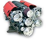 March Performance Aluminum GM LS-Series Serpentine Narrow Pulley Kit P/N 20065