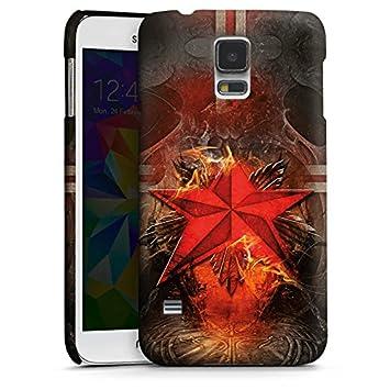 DeinDesign Carcasa Samsung Galaxy S2 Star Rojo Art, Premium ...