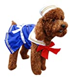 Anit Accessories Sailor Girl Dog Costume, 12-Inch