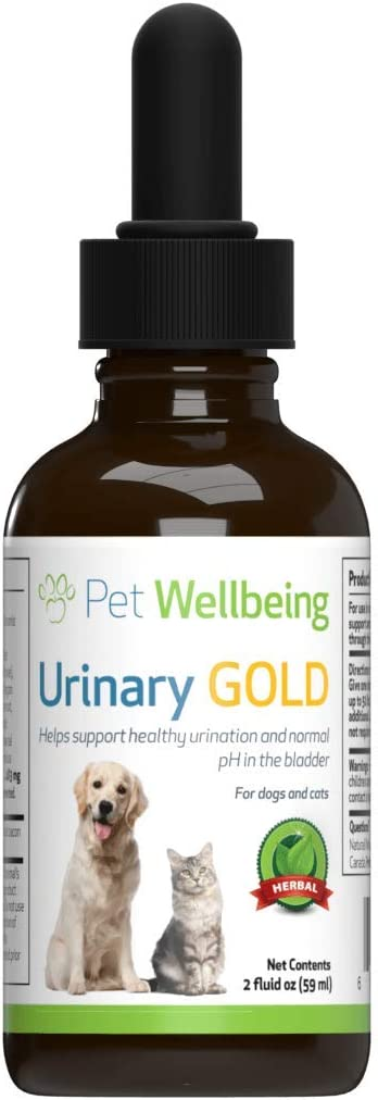 Pet Wellbeing - Urinary Gold for Dogs - Natural Support for Dog Urinary Tract Health