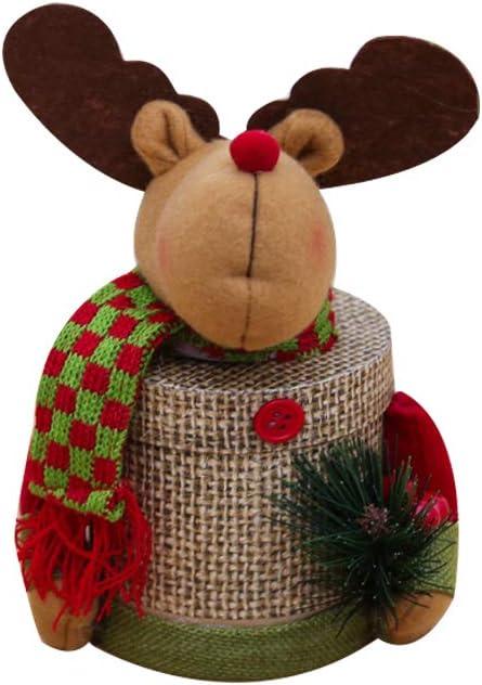 Caja de Regalo Grande de Navidad para niños, diseño de Papá Noel ...