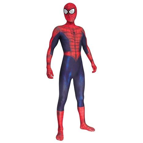WEGCJU Traje Negro De Spider-Man Fancy Ball Dance Medias ...