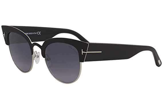 f77162604e8f Image Unavailable. Image not available for. Color  Sunglasses Tom Ford FT  0607 Alexandra- 02 05C black other smoke mirror