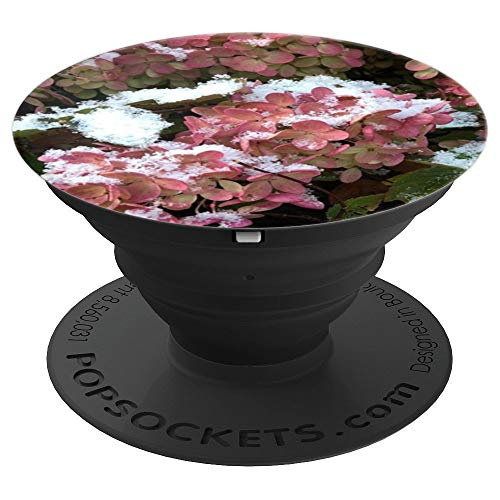 (Autumn flower hydrangea - PopSockets Grip and Stand for Phones and)