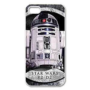 Cool Design Star Wars Printed Hard Plastic Case Shell Cover for iPhone 5s/iPhone 5 _White 30312