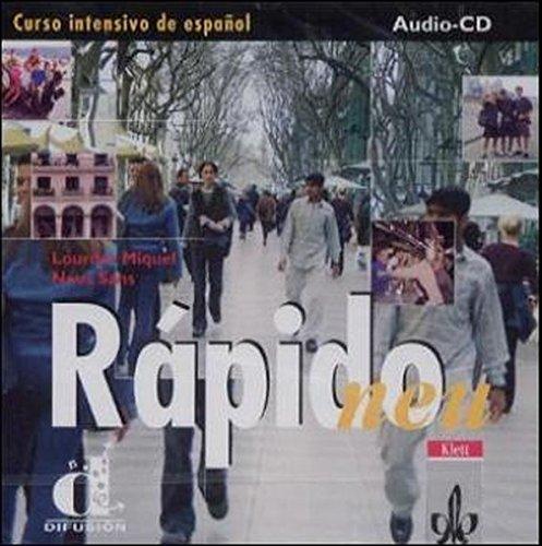 Rapido - Neubearbeitung. Einbändiges Spanischlehrwerk: Rapido Neu. CD zum Lehrbuch. Curso intensivo de espanol. (Lernmaterialien)