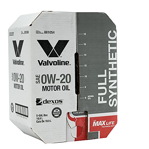 Valvoline 0W-20 Full Synthetic High Mileage Motor Oil - 5 gal Advanced Bay Box (881054)