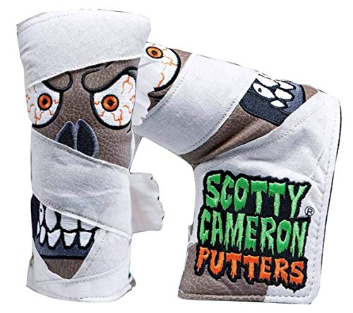 Scotty Cameron 2018 Halloween Limited Edition 'Mummy' Putter Headcover -