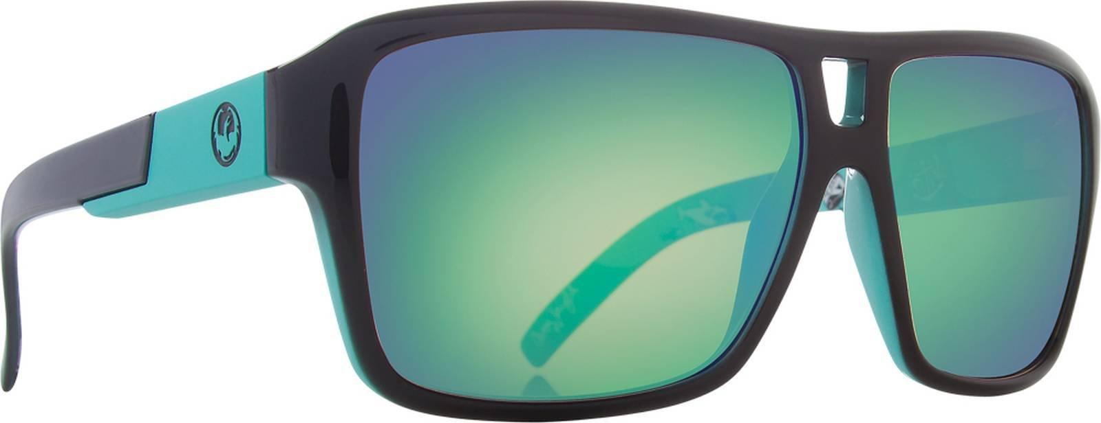 Dragon Alliance The Jam Sunglasses Owen Wright w/ Green Ion Mirror (720-1999) Authentic