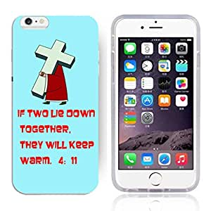"""FUNNY DIY The Christian Bible Quote of Gold Pattern HD Durable Hard Plastic Case Cover for Apple iphone 6 Plus(5.5"""")"""