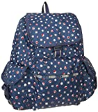 LeSportsac Voyager Backpack,Harbour Dot,One Size, Bags Central