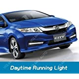 Volmax Honda City Led Drl (Day Time Running Lights) Fog Light Cover
