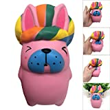 USHOT Clearance Squeeze King Rabbit Squishy Slow Rising Decompression Easter Phone Strap Toy