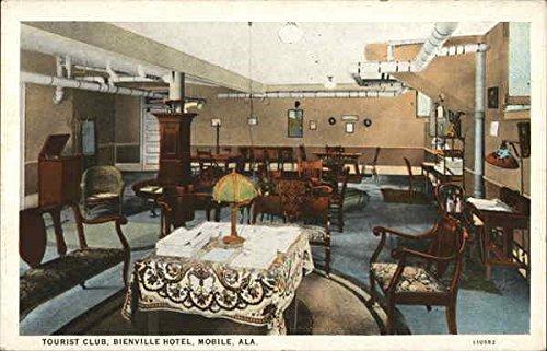Tourist Club, Bienville Hotel Mobile, Alabama Original Vintage Postcard