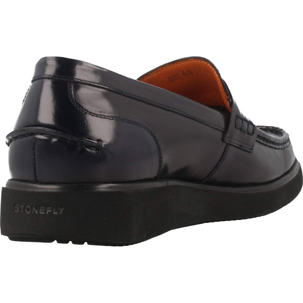 Mocasines para Hombre, Color Negro, Marca STONEFLY, Modelo Mocasines para Hombre STONEFLY 84713 Negro: Amazon.es: Zapatos y complementos