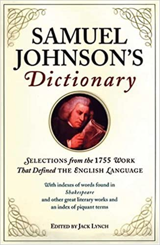 Dr Samuel Johnson's Dictionary of the English Language