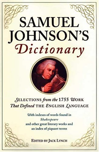 Samuel Johnson's Dictionary by Brand: Walker n Company