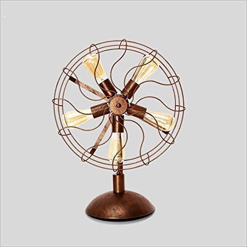 Lámparas de Escritorio Lámpara Industrial del Ventilador del ...