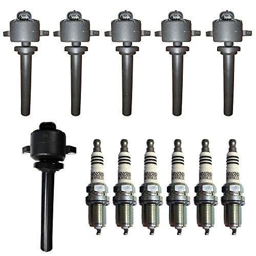 Ignition Coil Isuzu (Complete OEM Ignition Coil and Spark Plug Set for Honda Passport, Isuzu Rodeo)