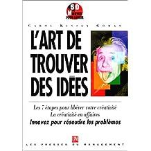 Art De Trouver Des Idees