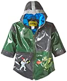 Kidorable Little Boys' Dragon-and-Knight Raincoat,Grey,42130
