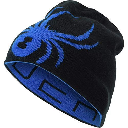 Spyder Boys Big Bug - Spyder Boys' Reversible Bug Hat, Turkish Sea/Black, One Size