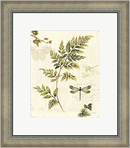 ivies-and-ferns-iii-by-lisa-audit-framed-art-print-wall-picture-silver-scoop-frame-18-x-20-inches