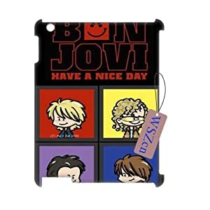 Bon jovi DIY 3D Durable Case for Ipad2,3,4,Bon jovi custom 3d case