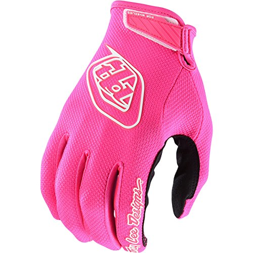 Troy Lee Designs Air Solid Men's Off-Road Motorcycle Gloves - Flo Pink/Large