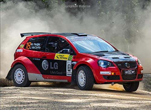 VW Polo rally: 120 pages with 20 lines you can use as a journal or ...