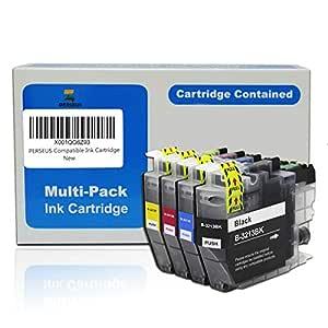 PERSEUS Reemplazo para Brother LC3213 Cartuchos de Tinta Negro/Cian/Magenta/Amarillo álta Capacidad, Compatible con DCP-J572dw DCP-J772DW DCP-J774DW ...