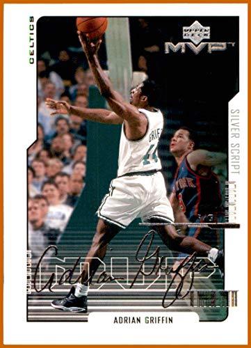 2000-01 Upper Deck MVP Silver Script #11 Adrian Griffin BOSTON CELTICS SETON HALL PIRATES