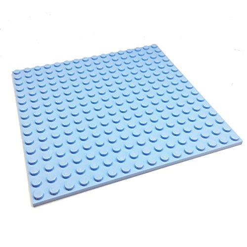 blue lego building plate - 4