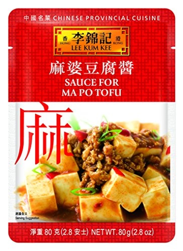 Lee Kum Kee Sauce For Ma Po Tofu, 2.8-Ounce Pouches (Pack of 12)