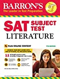 img - for Barron's SAT Subject Test Literature, 7th Edition: with Bonus Online Tests book / textbook / text book