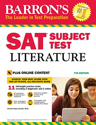 Barron's SAT Subject Test Litera...