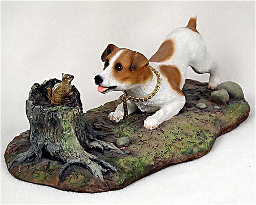 Terrier Figurine (Jack Russell Terrier Smooth Coat Brown & White My Dog Special Edition Conversation Concepts Dog)