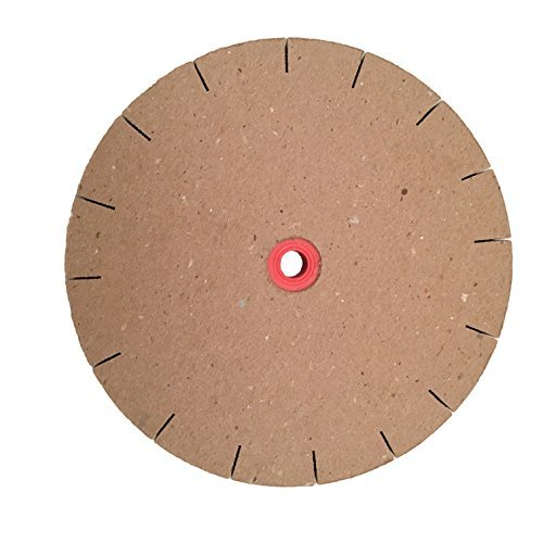 """Paper Sharpening Wheels - 8"""" Slotted Replacement Polishing"""