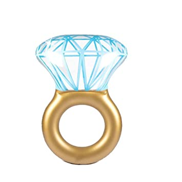 WLZP Hinchable Colchonetas Piscina, Inflable Diamantes Gigante Flotador, Juguete para Fiestas de Piscina con Válvulas Rápidas, Fotografía Apoyos, ...