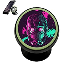 Magnetic Car Mount Holder, Universal Mobile Phone Holder for Car, Cacapi Starlord Posters 360 Degree Rotation Magnetic Phone Holder, Noctilucent function