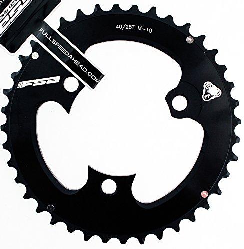 FSA AFTERBURNER 386 PRO Mtb Chainring M10 40t 86 BCD 3 Bolt Alloy Bike Black by FSA (Image #3)