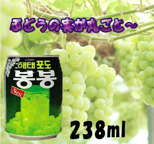* Bargain! * [Haitai grape juice 1 box (238mlx12 cans)] bonbon drink Korea drink fruit drinks Korean tea Korean food