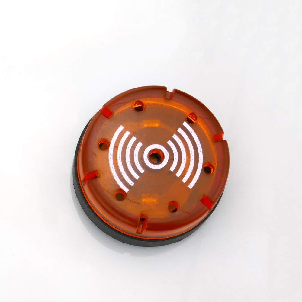 BeMatik - Caja de control de dispositivos eléctricos para 1 pulsador o interruptor de 22 mm beige: Amazon.es: Electrónica