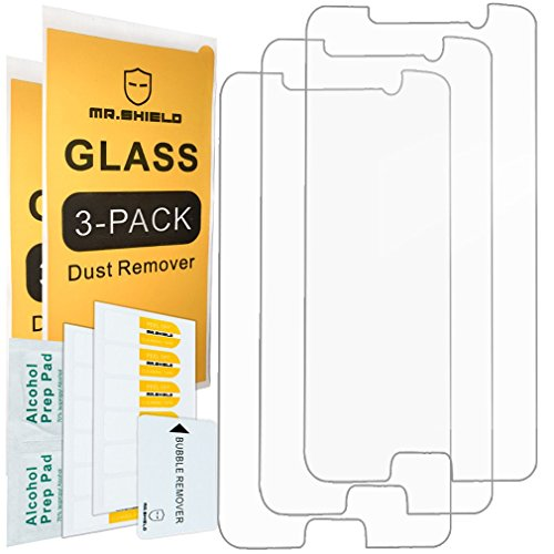 [3-Pack]- Mr.Shield for Samsung Galaxy Note 5 [Tempered Glass] Screen Protector [Japan Glass with 9H Hardness] with Lifetime Replacement